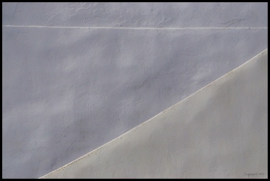 Abstract Santorini 2