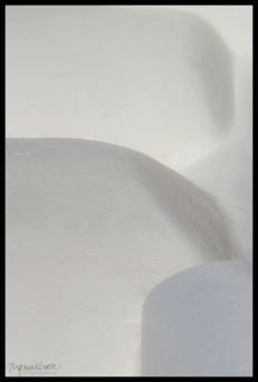 Abstract Santorini 3