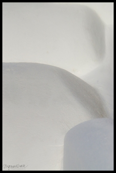 Abstract Santorini 3