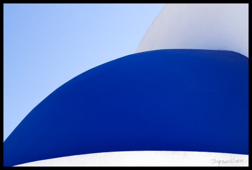 Abstract Santorini 7