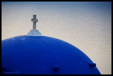 Blue Dome, Santorini