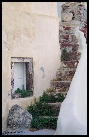 Stairs, Santorini