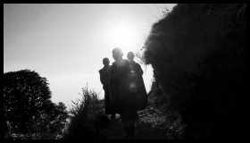 Hiking Monks - McLeod Ganj