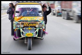 Rickshaw Riders - Wagah Border