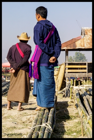 Cane Salesmen - Inle Lake