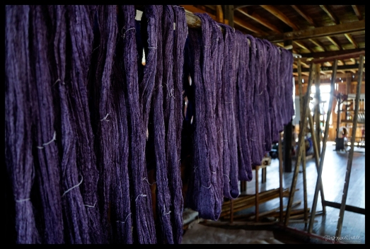 Drying Thread - Inle Lake