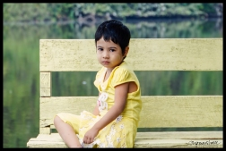 Girl in Yellow with Thanaka - Hlawga National Park