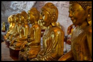 Infinite Buddhas - Shwe Oo Min Paya, Shan State