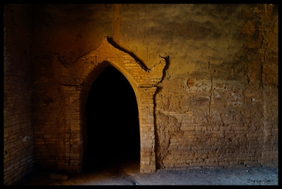 Monastery Door - Bagan