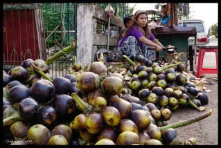Palm Fruit Vendor -