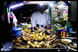 Pig Parts - Night Market, Yangon