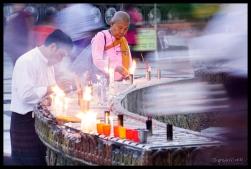 Prayer - Shwedagon, Yangon
