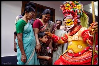 Theyyam Blessing - Kannur