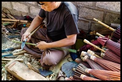 Umbrella Maker - Shan State