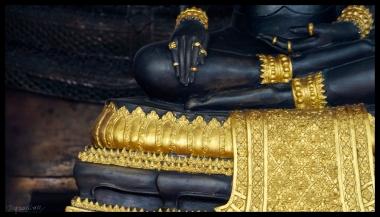 Black Buddha - Bangkok