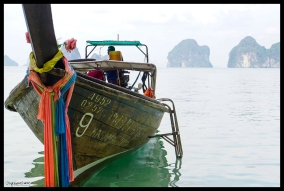 Boat and Karst - Koh Yao Noi