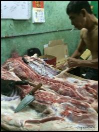 Butcher, China Town - Melaka