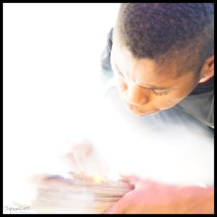 Orang Asli Making Fire - Taman Nagara