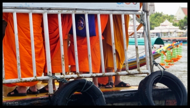 Floating Monks - Bangkok