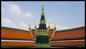 Roof at Wat Phra Kaew - Bangkok