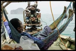 Hammock on a Boat - Koh Yao Noi