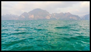 Kasrt Sunset - Cheow Lan Lake