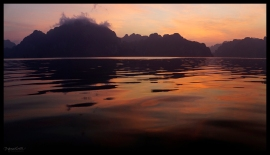Lake Sunrise - Cheow Lan Lake
