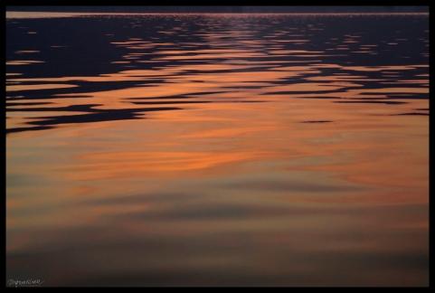 Lake Sunrise Abstrct - Cheow Lan Lake