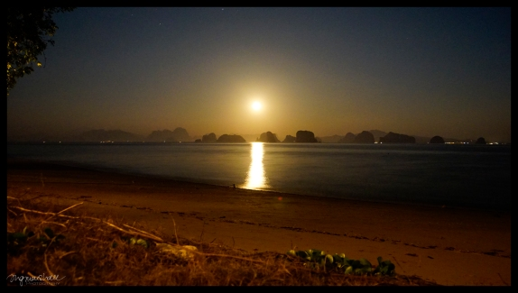 Moon Rise - Koh Yao Noi