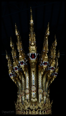 Seven Headed Dragon Royal Barge - Bangkok