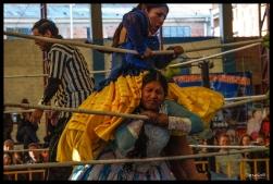 Cholita Wrestling - El Alto