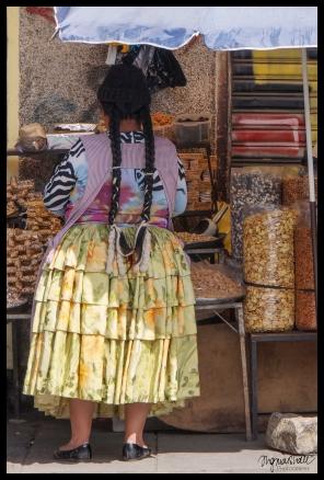 Cholita Vendor - La Paz