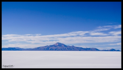 Mountain, Salt Flats