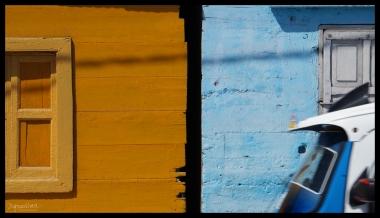 Peruvian Coast - Yellow and Blue