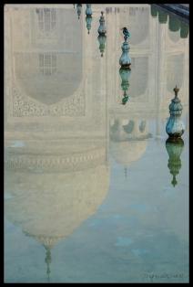 Bird at the Taj