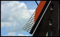 Windmill, Sky - Zaanse Schaans