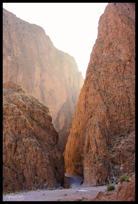 Gorge Light - Todra Gorge