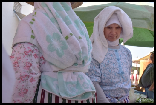 Lady at the Market - Bab Taza