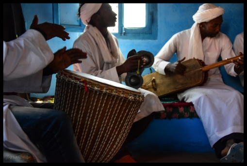 Making Music - Merzouga