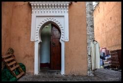Mosque Door - Chefchaouen
