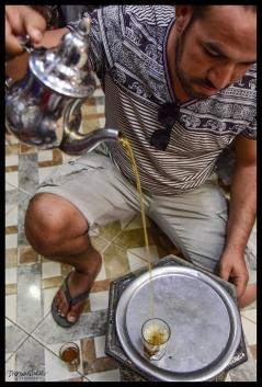 Pouring Tea - Rissani